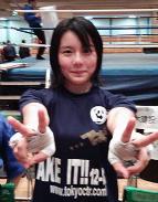 小野木里奈 ボクシング 画像